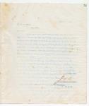 Letter to Mr. D.C. Rawls, Augustg 8, 1898