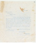 Letter to Bro. J.E. Wolfe, August 10, 1898 by John Marshall Stone