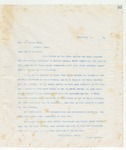 Letter to Mr. G. Edward Park, September 1, 1898
