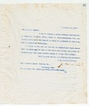 Letter to Brother Speed, November 19, 1898