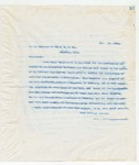 Letter to Trustees of the Industrial Institute & College (II&C), November 19, 1898
