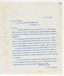 Letter to Mr. J.M. Castles, 11/19/1898