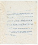 Letter to Annie, 11/20/1898 by John Marshall Stone