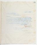 Letter to The National Cloak Company, January 4, 1899 by John Marshall Stone