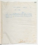 Letter to No Recipient Given, January 25, 1899