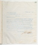 Letter to Brother Clarence R. Hoye, January 25, 1899 by John Marshall Stone