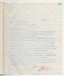 Letter to Crom Bowen, January 31, 1899 by John Marshall Stone