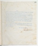 Letter to Hon. F.A. Critz, February 27, 1900 by John Marshall Stone