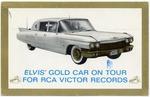 Elvis Gold Car on Tour