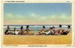 """A """"Tug of War"""" On The Beach"""