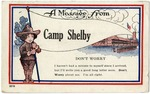 A Message From Camp Shelby