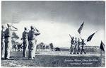 Battalion review, Camp Van Dorn