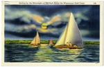 Sailing by The Moonlight on the Gulf Along The Mississippi Gulf Coast 156