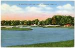 In Beautiful Lake View Park