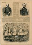Brigadier-Gen. Burnside, Gen. Robert E. Lee and the USS Minnesota