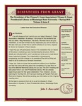 Dispatches from Grant - Spring 2015 - Volume 3 Issue 2 by Mississippi State University